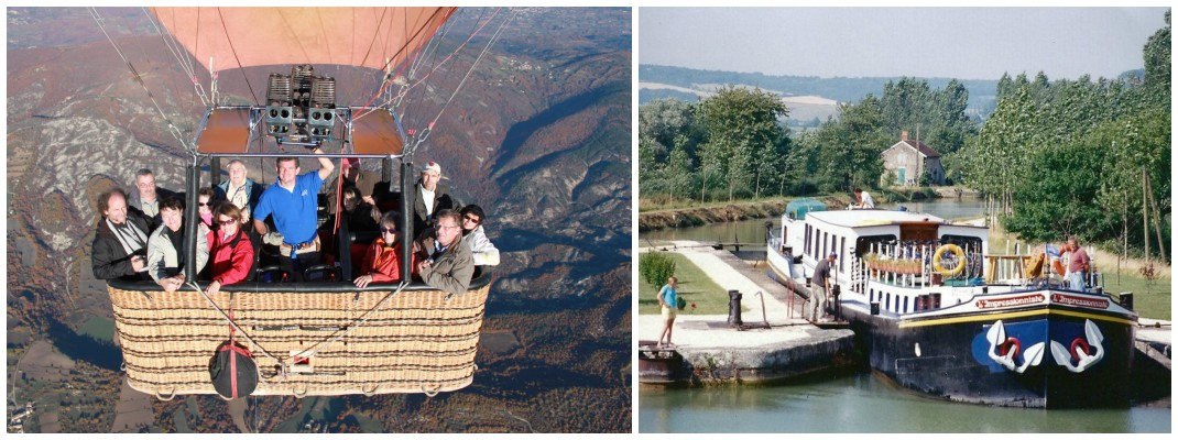 Philip Haslett Ballooning in Provence and Barging in Burgundy