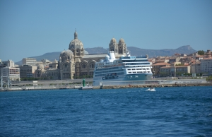 Cruise Ship at La Joliette, Marseille